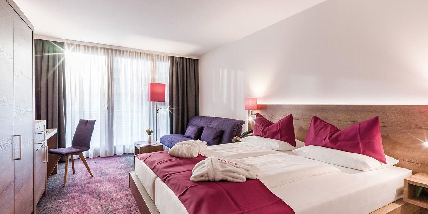 Wohlfühl Doppelzimmer im Vivea Gesundheitshotel Bad Eisenkappel, Kärnten