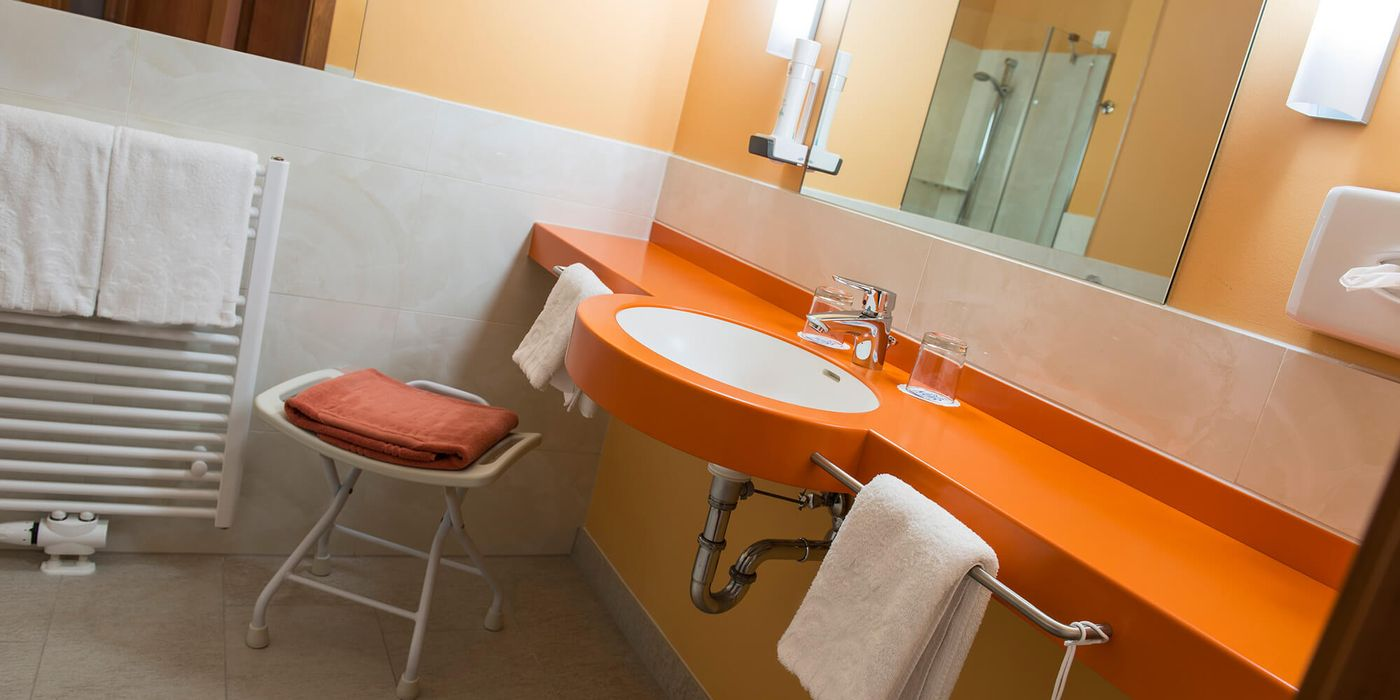 Badezimmer / Wohlfühl Doppelzimmer
