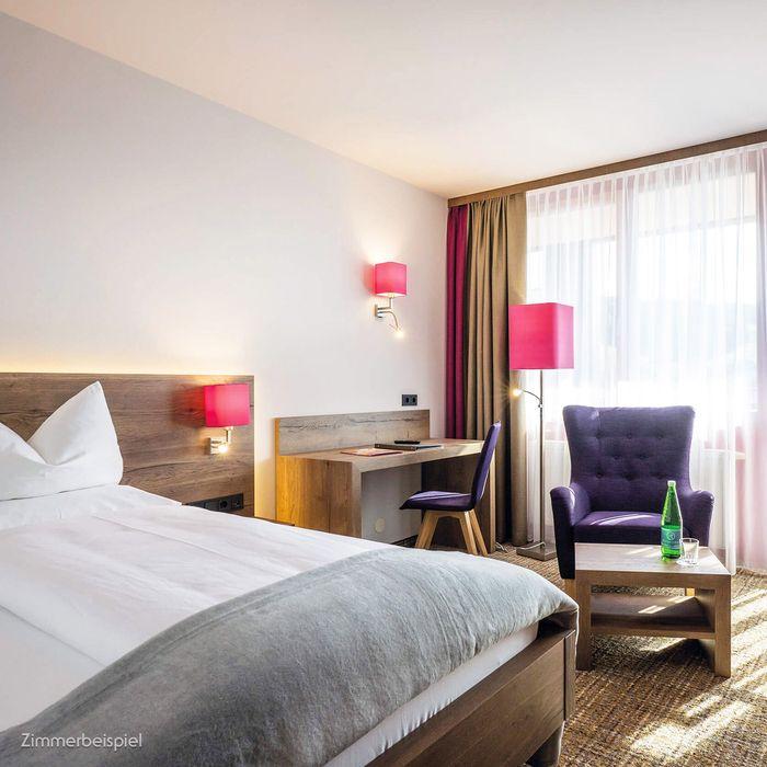 In unseren Premium Einzelzimmern erwartet Sie eine Fülle an Vorteilen.