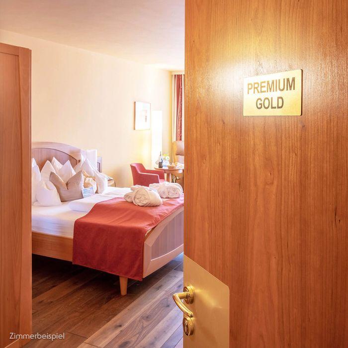 Erleben Sie unsere Premium GOLD Kategorie in Bad Traunstein mit vielen Extras