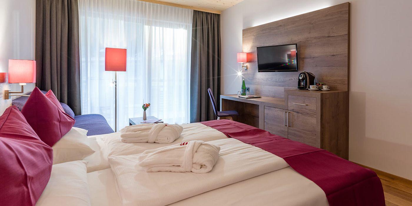 Premium Doppelzimmer im Vivea Gesundheitshotel Bad Eisenkappel, Kärnten