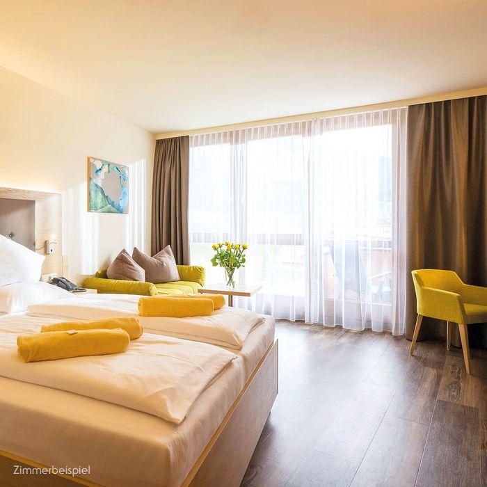 In unseren Premium Doppelzimmern erwartet Sie eine Fülle an Vorteilen.