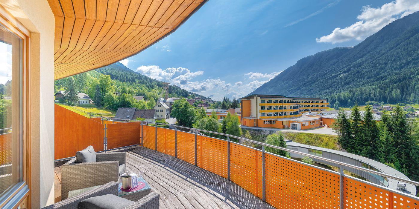 Vivea Gesundheitshotel Bad Bleiberg - Premium GOLD Doppelzimmer - Balkon mit Ausblick