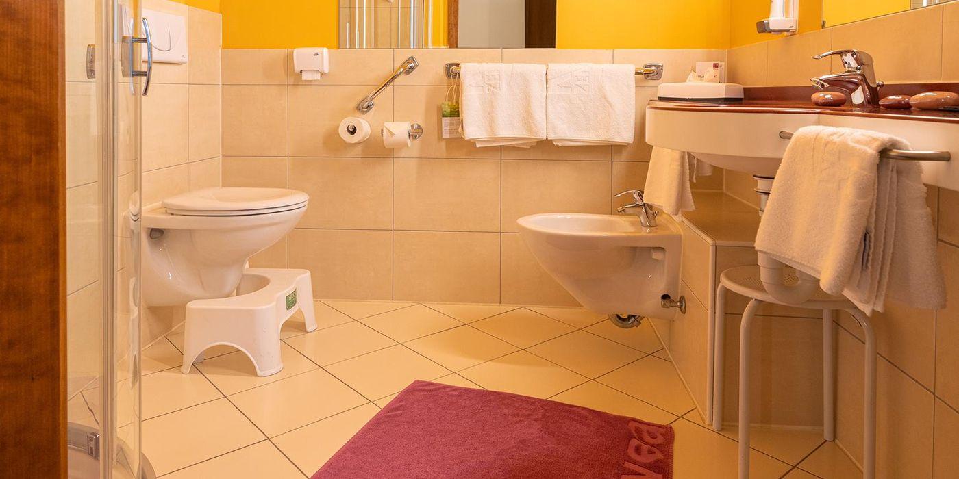 Vivea Gesundheitshotel Bad Bleiberg - Premium GOLD Einzelzimmer - Badezimmer