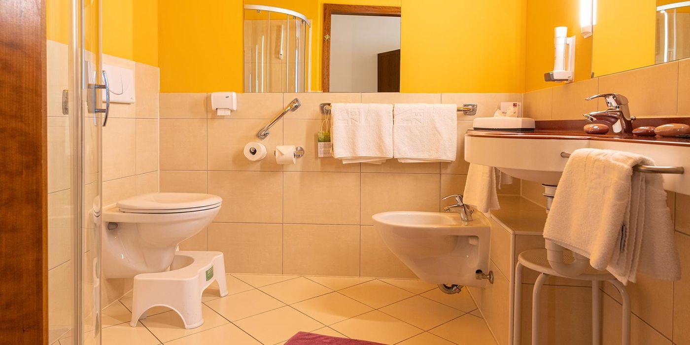 Vivea Gesundheitshotel Bad Bleiberg - Premium GOLD Doppelzimmer - Badezimmer
