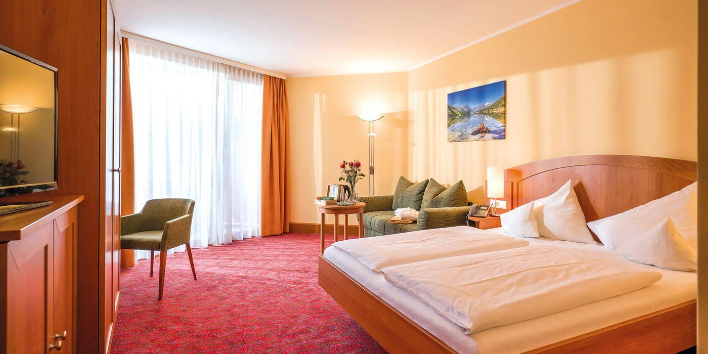 In unseren Premium Doppelzimmern erwartet Sie eine Fülle an Vorteilen