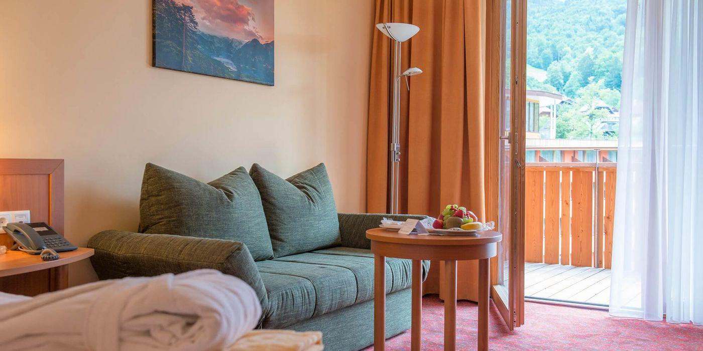 Premium Einzelzimmer im Vivea Gesundheitshotel Bad Goisern