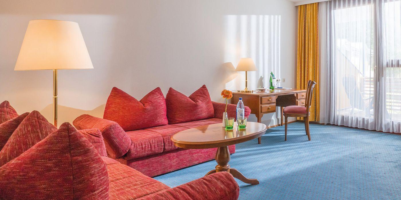 Wohlfühl Suite Vivea Gesundheitshotel Bad Eisenkappel (Zimmerbeispiel)