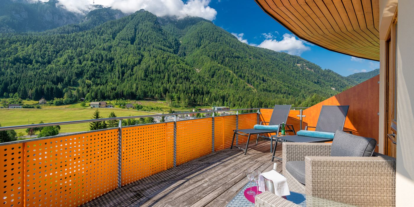 Vivea Gesundheitshotel Bad Bleiberg - Premium GOLD Suite - Balkon