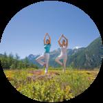 Yoga in den Vivea Gesundheitshotels