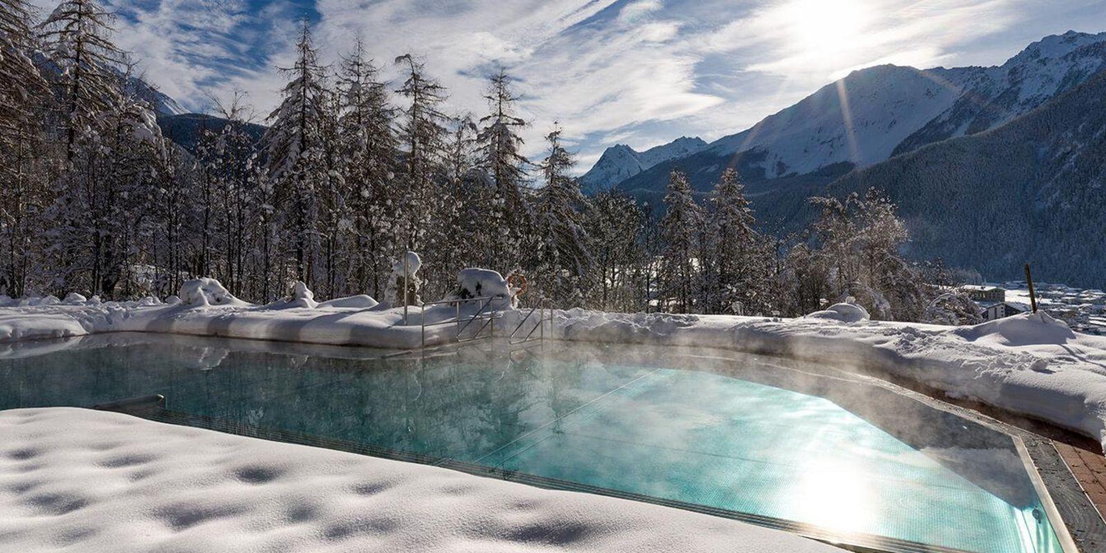 Vivea Gesundheitshotel Umhausen im Ötztal im Winter