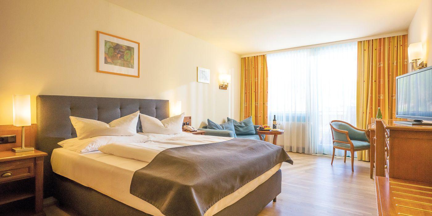 Zahlreiche Vorteile und Extras im Premium Doppelzimmer