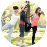 Durch verschiedene Arten von Übungen kann der Körper gezielt gestärkt werden.