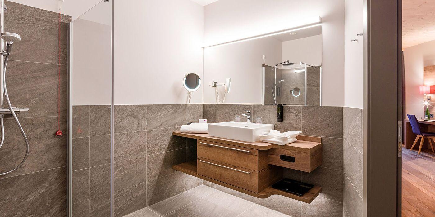 Premium Suite (Badezimmer) im Vivea Gesundheitshotel Bad Eisenkappel, Kärnten