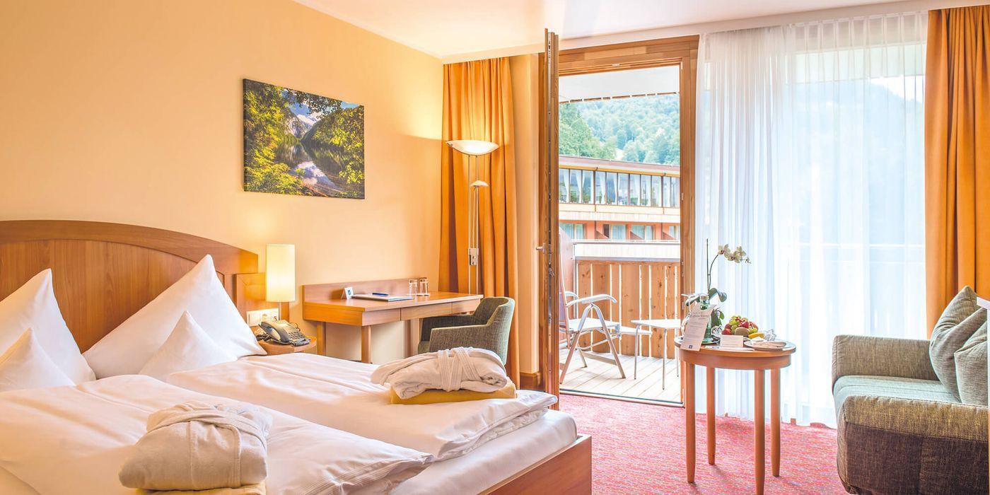 Wohlfühl Doppelzimmer im Vivea Gesundheitshotel Bad Goisern